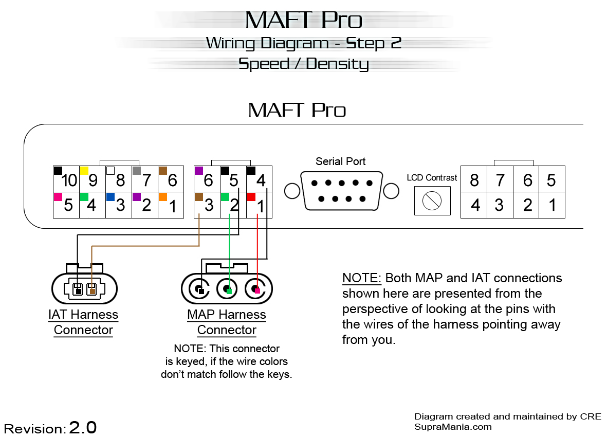 2a) GM MAF (ex: If you're going to be running a GM LS-1 MAF) Current  Version = 2.0